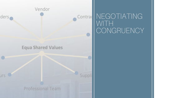 Negotiating With Congruency