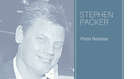 PRESS RELEASE – New appointment of Stephen Packer as Chief Financial